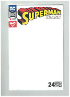 Superman #1 Blank Comic 24 Hour Comics Day DC 2018