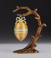 Egg on tree LIMITED EDITION trinket box  by Keren Kopal & Austrian crystals