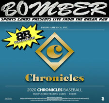 Detroit Tigers 2020 Panini Chronicles Baseball 8 Box 1/2 Case Break 2
