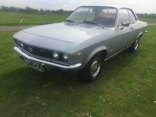 1971 OPEL MANTA 1.6s A-series , very low miles & owners one of the best, LHD