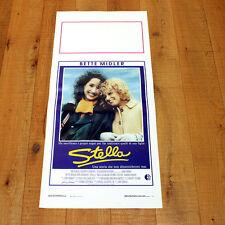 STELLA locandina poster affiche Bette Midler 1990 AF39
