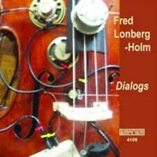 FRED LONBERG-HOLM - DIALOGS USED - VERY GOOD CD
