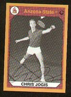 Chris Jogis signed Arizona State Collegiate Collection