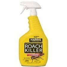 NEW HARRIS HRS-32 ROACH BUG PEST KILLER SPRAY 32OZ READY TO USE TRIGGER 6187652