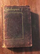 Shakespeare's Complete Works American  Edition Late 1800's Thomas Y Crowell & Co