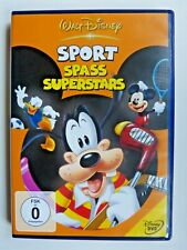 Walt Disney Sport Spass Superstars auf  DVD