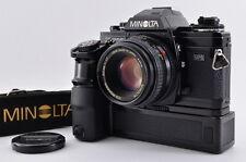 【EXC+++++】Minolta X-700 35mm SLR + MD 50mm F1.7 Moter Drive From Japan 561N