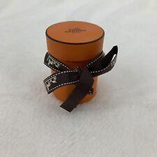 "Hermès box (BOX ONLY EMPTY) round small ribbon 3""x2.25"""
