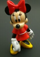 """Disney MINNIE MOUSE PVC Action Figure Figurine Cake Topper 2"""" tall classic red"""