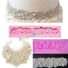 Perles RONDES 3D SILICONE perles bulles fondant mold moule gâteau décoration