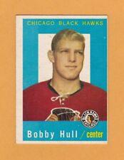 1959-60 NHL Topps # 47 Bobby Hull -- Ex+