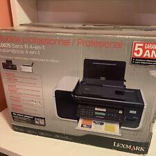 Lexmark Professional  X6675 Wireless 4 In 1 Printer Wireless WiFi Scan Copy