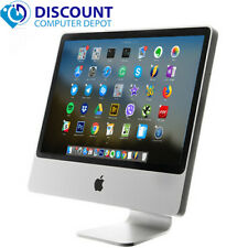 "Apple iMac 20"" Desktop Intel Core 2 Duo 4GB 250GB Mac OS X  w/ keyboard & mouse"