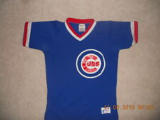 30eb1f9ba0e Vintage Chicago Cubs Rawlings 1984 Throwback Jersey Youth Medium Classic  Cubbie