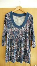 Ladies MS Mode Top Size Large Brand New Floral Top Casual T-shirt Top