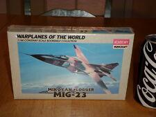 MIKOYAN FLOGGER - MIG-23, Jet Fighter Plane, Plastic Model Kit, Scale 1/144