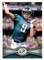 NICK FOLES 2012 Topps Rookie Rc Card # 186