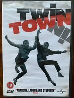 Twin Town DVD 1997 Welsh British Cult Comedy Movie with Rhys Ifans USED