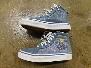 vans sk8 mid blue jr 00018T1IZ