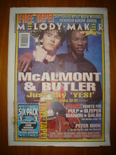 MELODY MAKER 1995 JUN 3 MCALMONT & BUTLER PULP SLEEPER