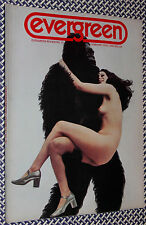 1970 EVERGREEN Magazine, Abbie Hoffman, Greenwich Village, Erotic Photos, Zappa