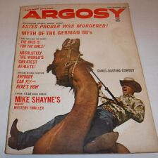 Argosy Magazine Camel Busting Cowboy November 1962 071315R