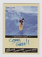 2009 UD Goodwin Champions Autograph CC Corky Carroll Pioneer Surfing Legend HOF
