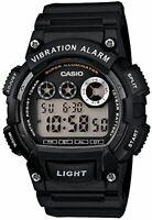 New CASIO Digital Watch Black/Black W-735H-1AJF Standard Men's From Japan