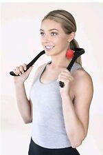 Premium Neck Massager (Red) – Handheld Deep Tissue Pressure Point