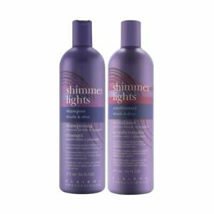 Clairol Shimmer Lights Shampoo and Conditioner (Combo Deal) 16 oz