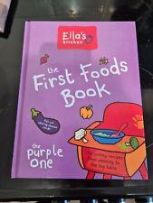 ellas kitchen first foods book