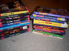 LOT of 20 R.L. Stine and FEAR STREET YA Horror PBs---THE WRONG NUMBER--TWISTED