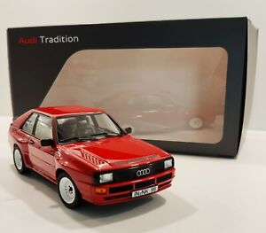 Audi Sport Quattro rot red Limited Dealer Edition 500 pieces Norev 1:18 NEU