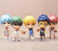 Kuroko's Basketball ball set of 5pcs PVC figure gift doll figures toy fashion