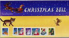GB 2012 CHRISTMAS ILLUSTRATIONS by AXEL SCHEFFLER PRESENTATION PACK No.478