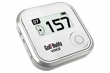 Golf Buddy Voice GPS Golf Range Finder - 40k Auto Course & Hole - No Annual Fees