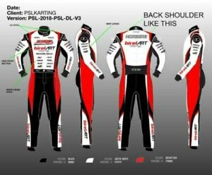BIREL ART GO KART RACE SUIT CIK/FIA LEVEL 2 APPROVED WITH FREE GIFTS