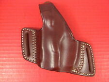 LH Triple K 420-59 Leather Belt Slide Holster for the Ruger P85 or P89 Pistol