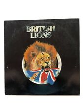 """British Lions"" Self-Titled 1978 Vinyl LP"
