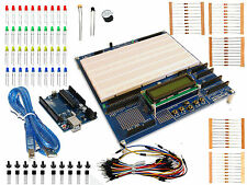 STARTER KIT ARDUINO PROTO SHIELD PLUS mit Arduino UNO R3