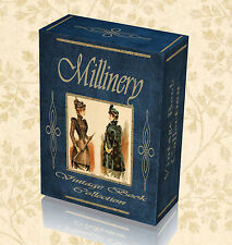 80 Rare Millinery Books DVD Hat Making Learn Trim Ladies Mens Design History 249