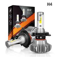 2x H4 COB LED Phare Conversion 120W Faisceau Haut / Bas 18600LM Ampoule LD2000
