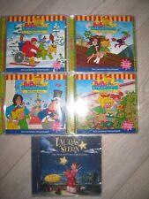 5 CD's  CD  Bibi Blocksberg  Lauras Stern  Sammlung Nr. 56,73,76,78