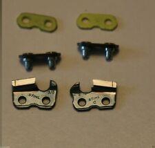 NEW STIHL 3/8 sawchain Repair kit for chisel chain Preset tie straps + cutters