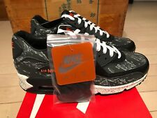 huge selection of 73347 2e5b8 2014 Nike Air Max 90 Premium Atmos Tiger Camo Black Grey 3M size 9.5
