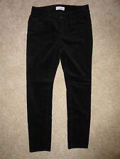 ANN TAYLOR LOFT Black CURVY SKINNY Corduroy Pants 27 / 4 Petite~ NWT! $59.50