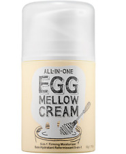 All in One Too Cool For School Egg Mellow Cream Firming Moisturizing Essence New