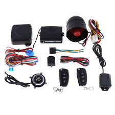 Car Ignition Alarm System Engine Start Push Button Keyless Entry Starter Key Kit