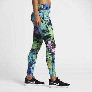 NIke Power Epic Lux Tight Running Gym Training Tights Solstice