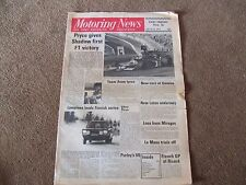 Motoring News 20 March 1975 Brands F1 Race of Champions South West Stages Rally
